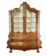 Dutch Antique Display Case