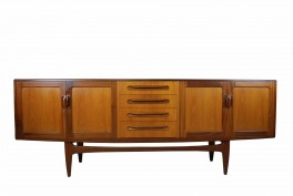 G plan fresco teak sideboard retro buffet mid century modern eames era parker danish design scandinavian influenced perth